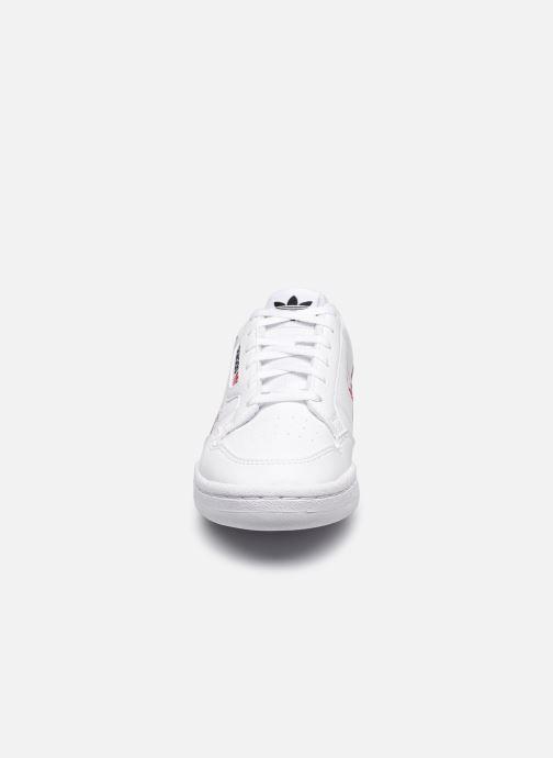 Sneakers adidas originals Continental 80 J Hvid se skoene på