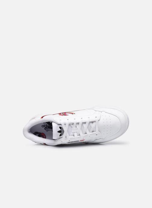 Sneakers adidas originals Continental 80 J Hvid se fra venstre