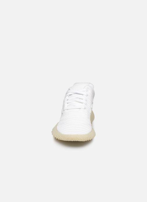Baskets adidas originals Sobakov J Blanc vue portées chaussures