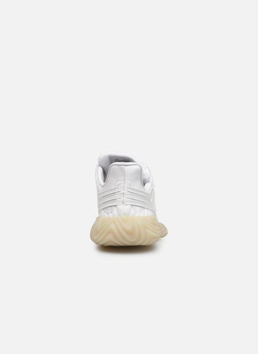 Baskets adidas originals Sobakov J Blanc vue droite