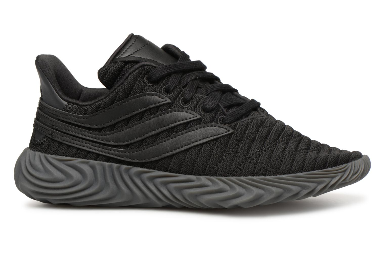 Baskets Adidas Originals Sobakov J Noir vue derrière
