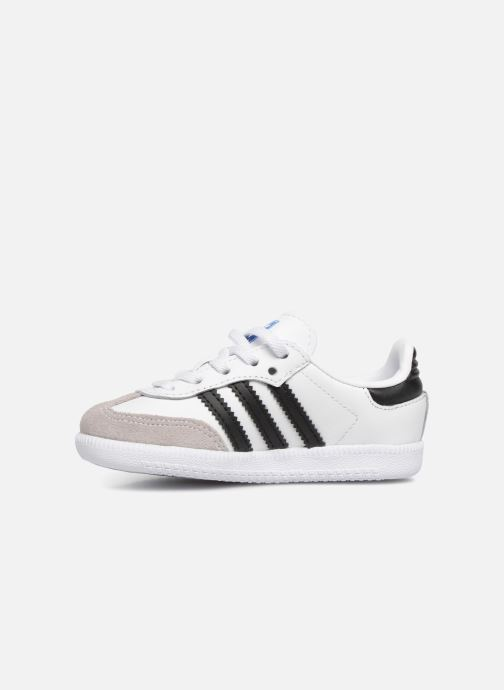 Baskets Adidas Originals Samba OG EL I Blanc vue face