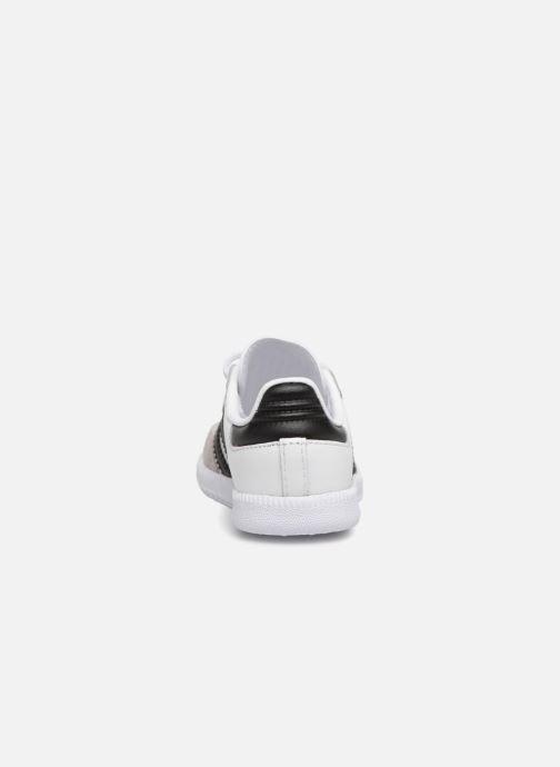 Baskets adidas originals Samba OG EL I Blanc vue droite