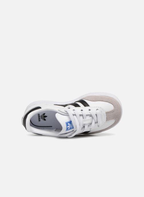 Sneakers adidas originals Samba OG EL I Bianco immagine sinistra