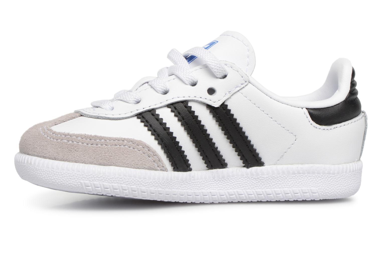 Baskets Adidas Originals Samba OG EL I Blanc vue face