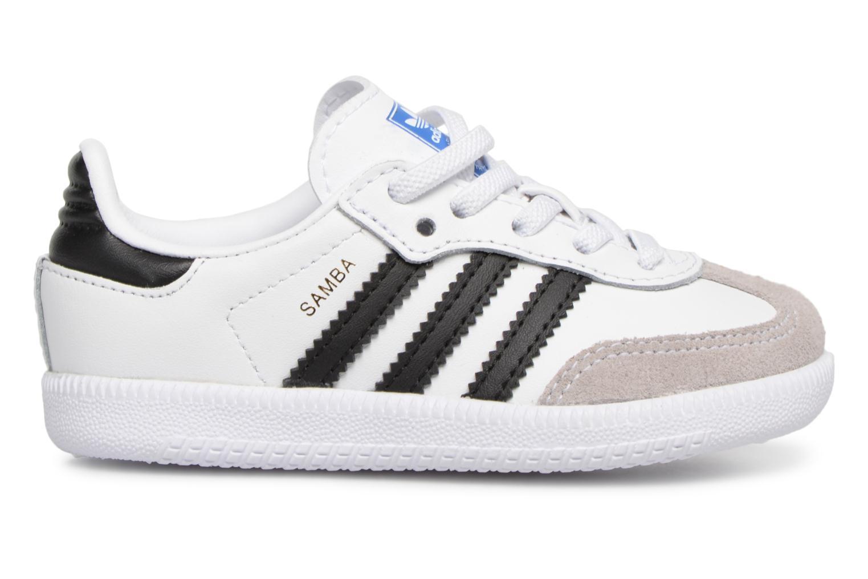 Baskets Adidas Originals Samba OG EL I Blanc vue derrière