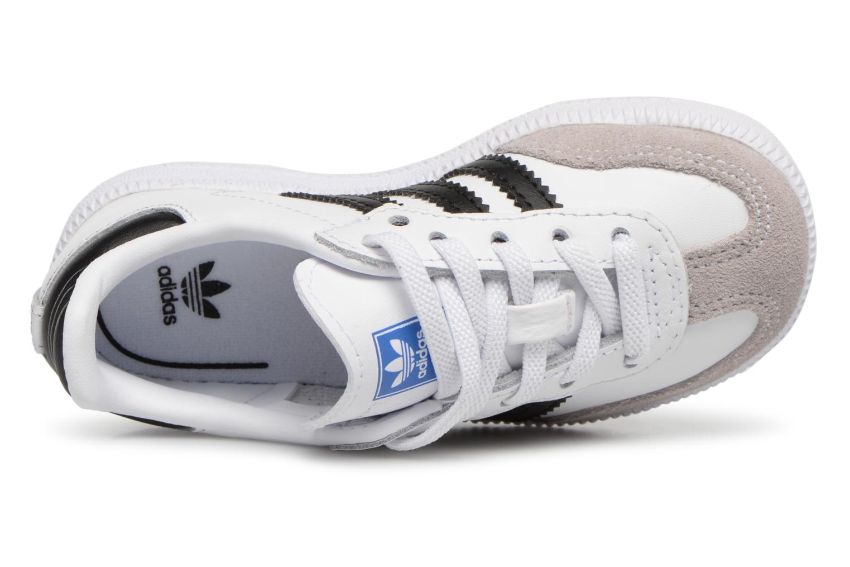 Baskets Adidas Originals Samba OG EL I Blanc vue gauche