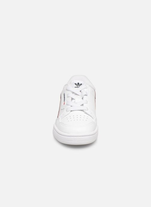 Sneaker adidas originals Continental 80 I weiß schuhe getragen