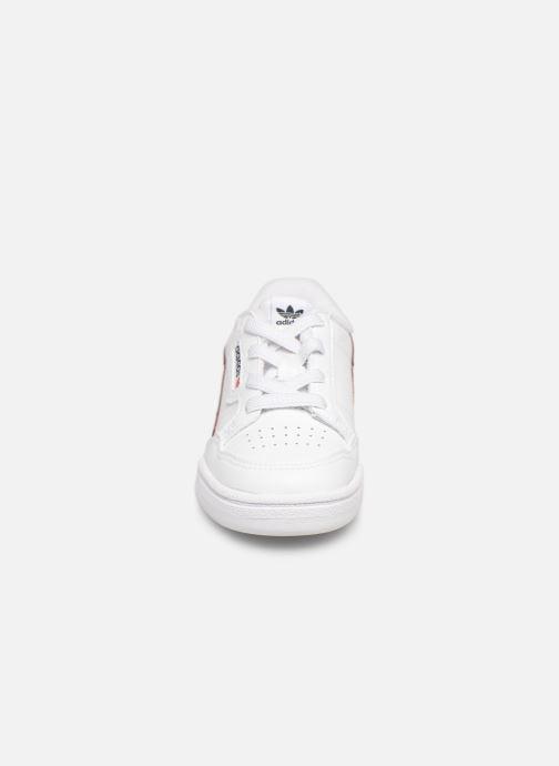 Baskets adidas originals Continental 80 I Blanc vue portées chaussures