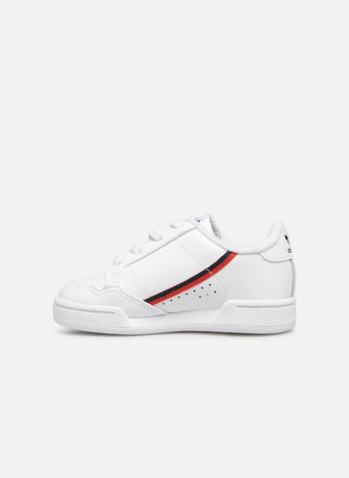 Deportivas adidas originals Continental 80 I Blanco vista de frente