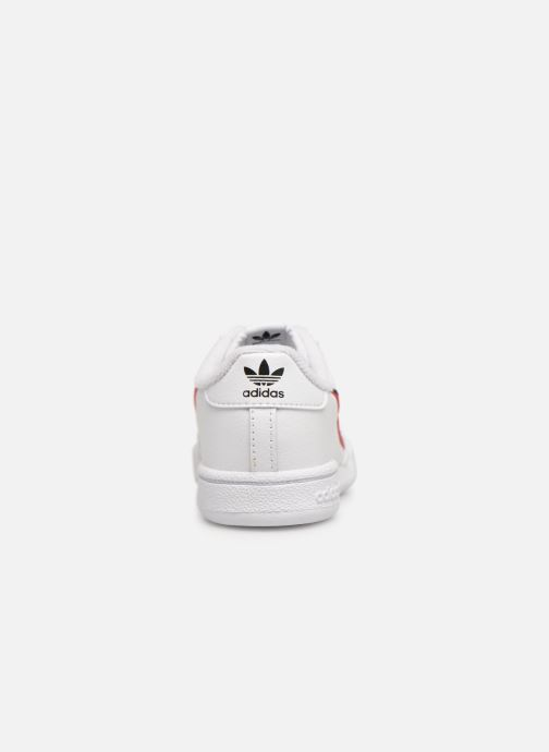 Sneaker Adidas Originals Continental 80 I weiß ansicht von rechts