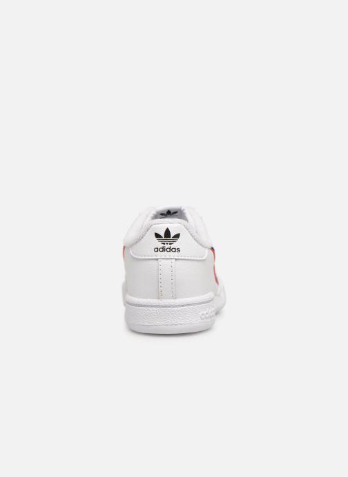 Baskets adidas originals Continental 80 I Blanc vue droite