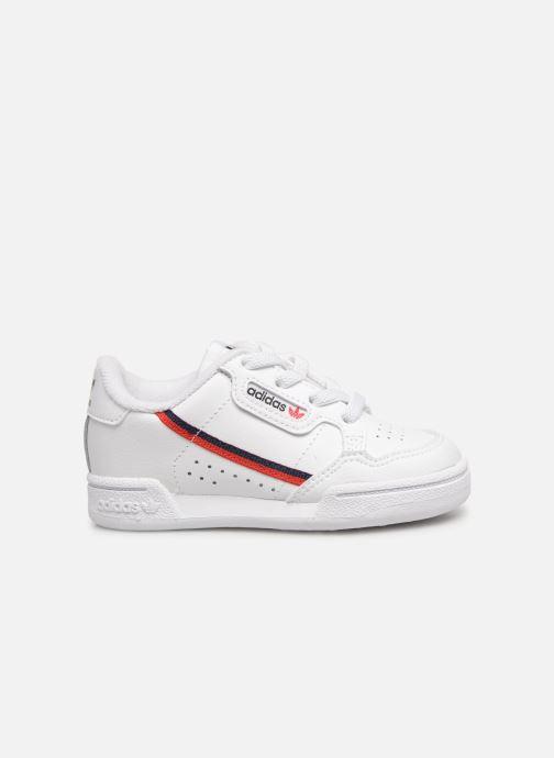 Sneakers adidas originals Continental 80 I Wit achterkant