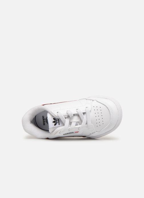 Sneaker Adidas Originals Continental 80 I weiß ansicht von links