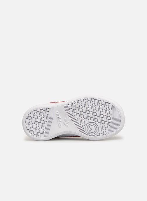 Sneaker adidas originals Continental 80 I weiß ansicht von oben