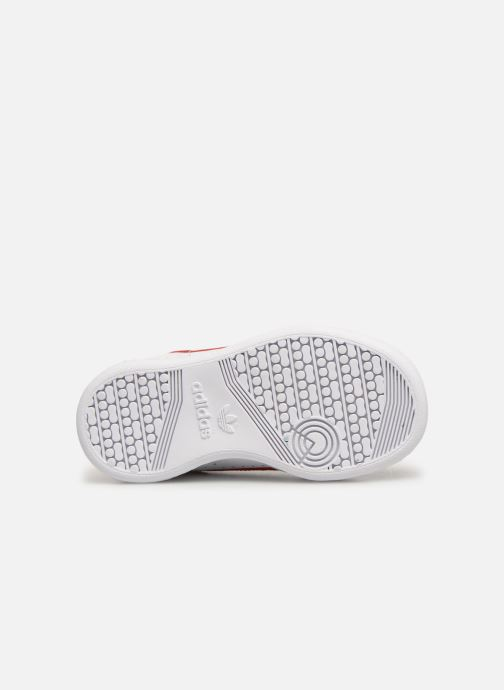 Baskets adidas originals Continental 80 I Blanc vue haut