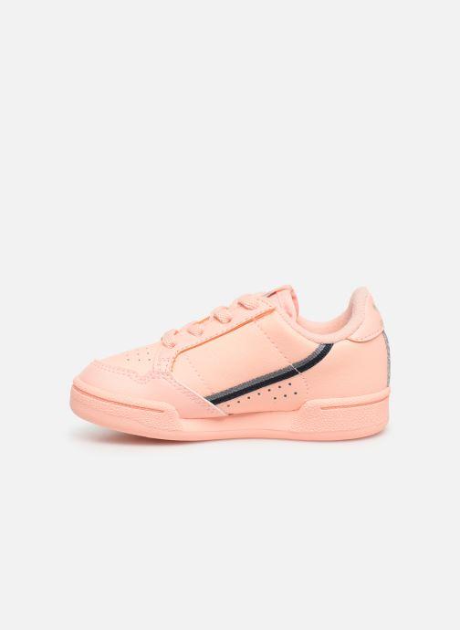 Baskets adidas originals Continental 80 I Orange vue face