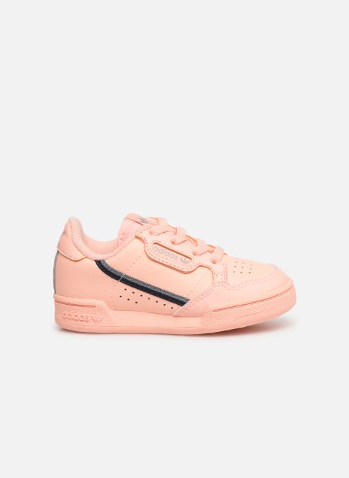 Baskets adidas originals Continental 80 I Orange vue derrière