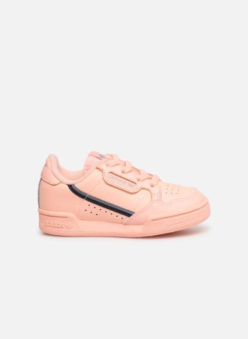 Baskets adidas originals Continental 80 I Orange vue derrière