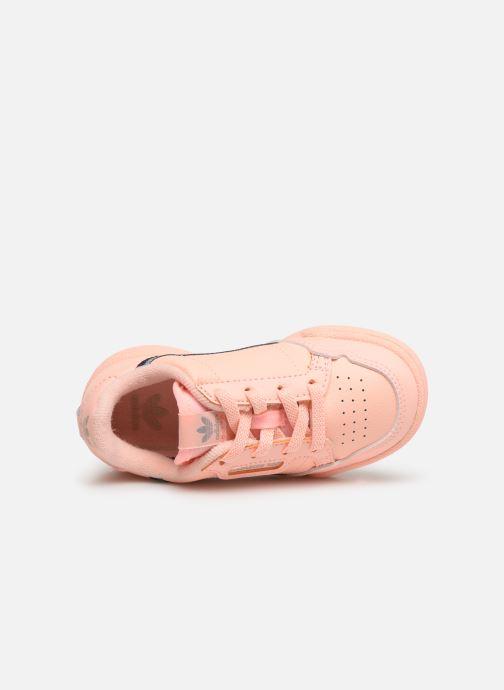 Baskets adidas originals Continental 80 I Orange vue gauche