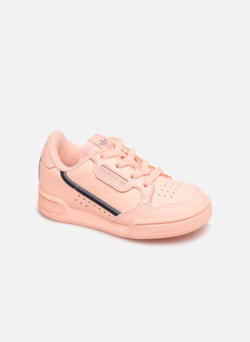 Baskets adidas originals Continental 80 I Orange vue détail/paire