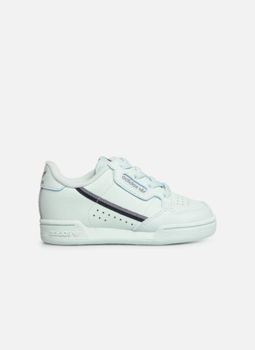 Sneakers adidas originals Continental 80 I Blauw achterkant