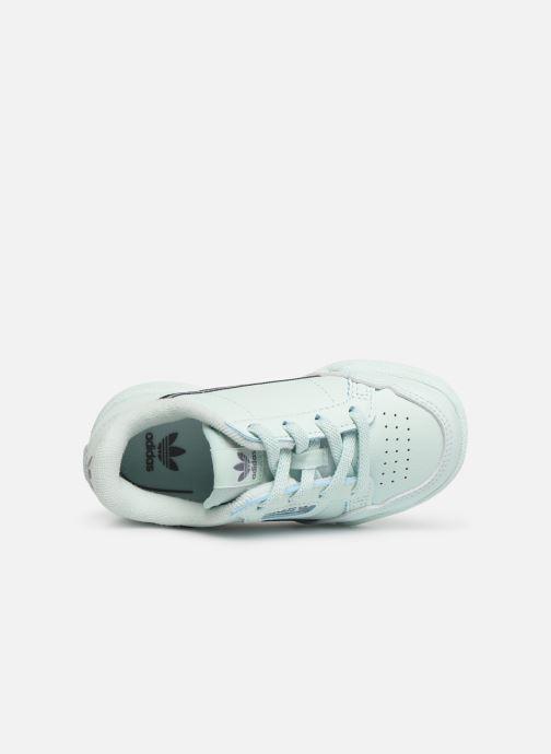 Baskets adidas originals Continental 80 I Bleu vue gauche