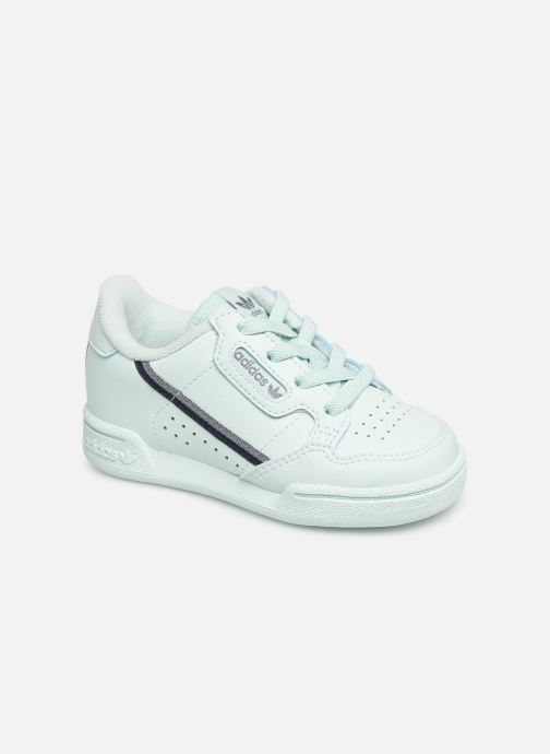 Baskets adidas originals Continental 80 I Bleu vue détail/paire
