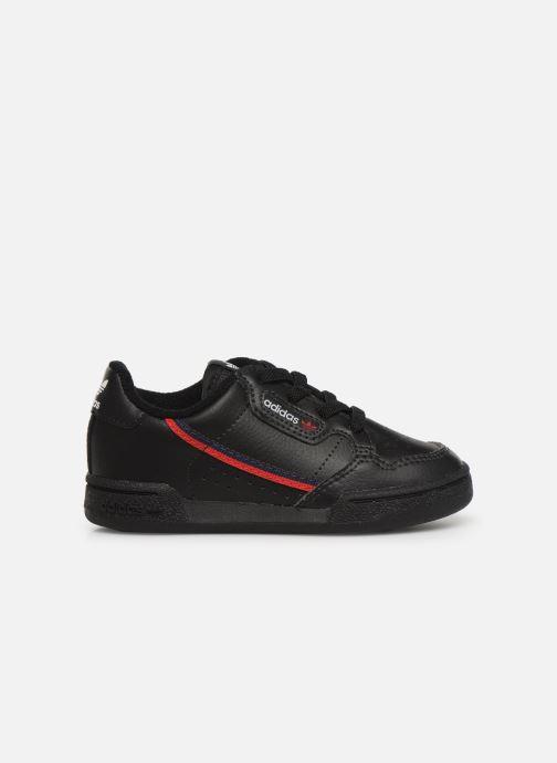Baskets adidas originals Continental 80 I Noir vue derrière