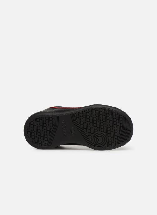 Baskets adidas originals Continental 80 I Noir vue haut