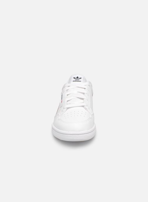 Sneaker adidas originals Continental 80 C weiß schuhe getragen