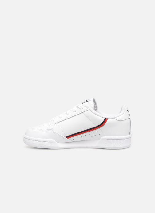 Sneakers adidas originals Continental 80 C Wit voorkant