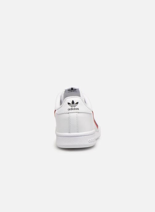 Baskets adidas originals Continental 80 C Blanc vue droite