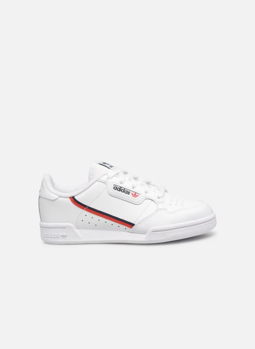 Sneakers adidas originals Continental 80 C Wit achterkant