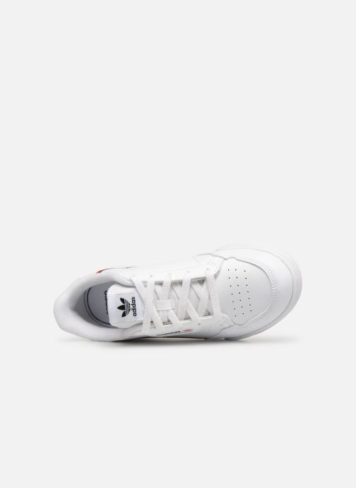 Baskets adidas originals Continental 80 C Blanc vue gauche