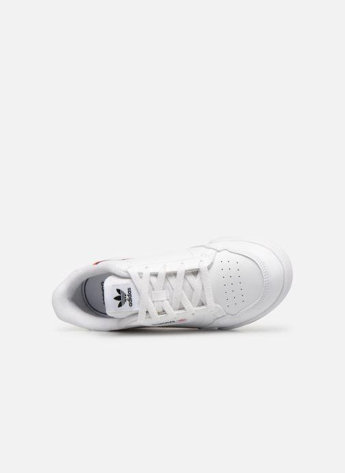 Sneakers adidas originals Continental 80 C Wit links