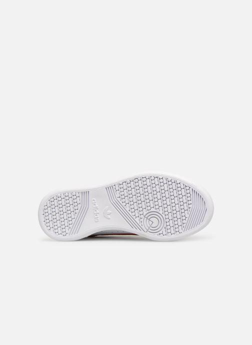 Baskets adidas originals Continental 80 C Blanc vue haut