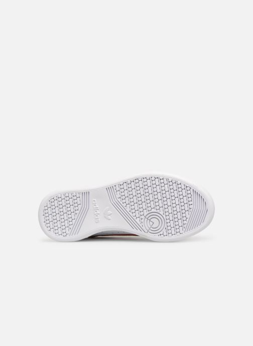 Baskets adidas originals Continental 80 C Blanc vue haut