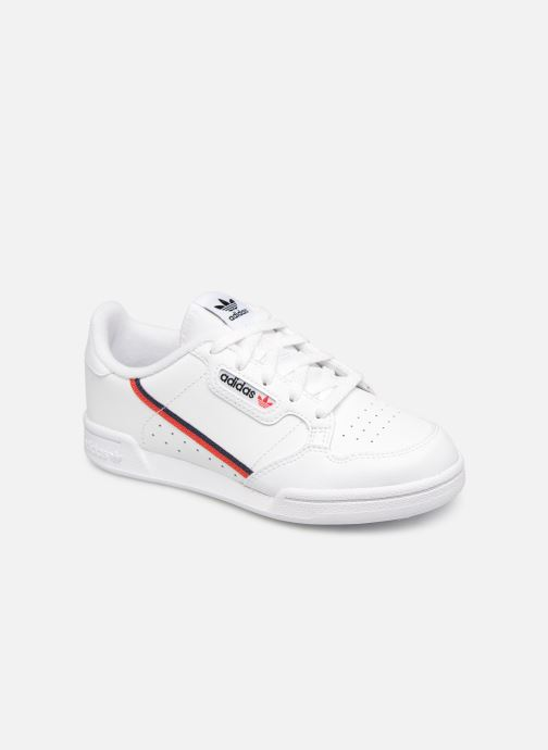 Baskets adidas originals Continental 80 C Blanc vue détail/paire