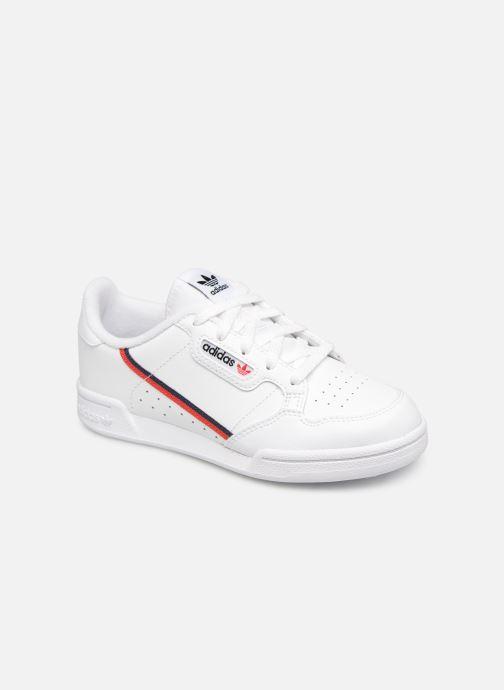 Deportivas Adidas Originals Continental 80 C Blanco vista de detalle / par