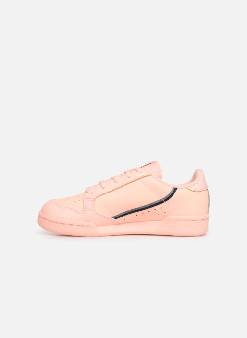 Baskets adidas originals Continental 80 C Orange vue face