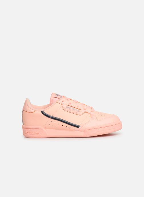 Baskets adidas originals Continental 80 C Orange vue derrière