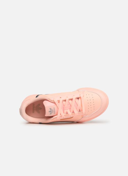 Baskets adidas originals Continental 80 C Orange vue gauche