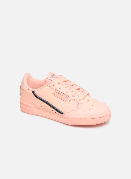 Baskets adidas originals Continental 80 C Orange vue détail/paire