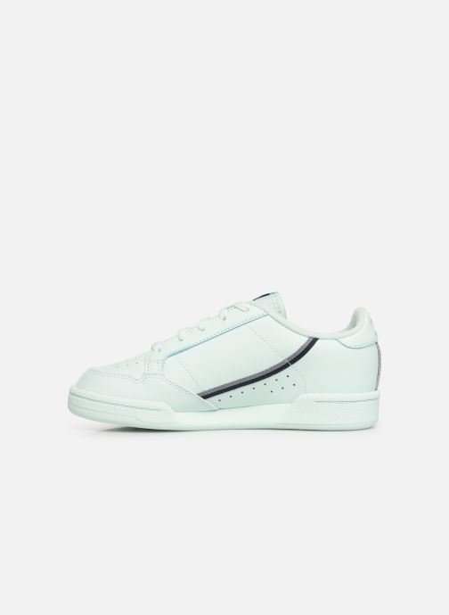 Baskets adidas originals Continental 80 C Bleu vue face