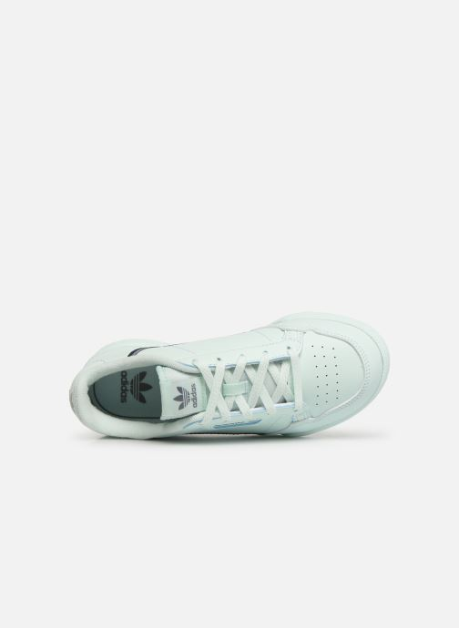 Trainers adidas originals Continental 80 C Blue view from the left