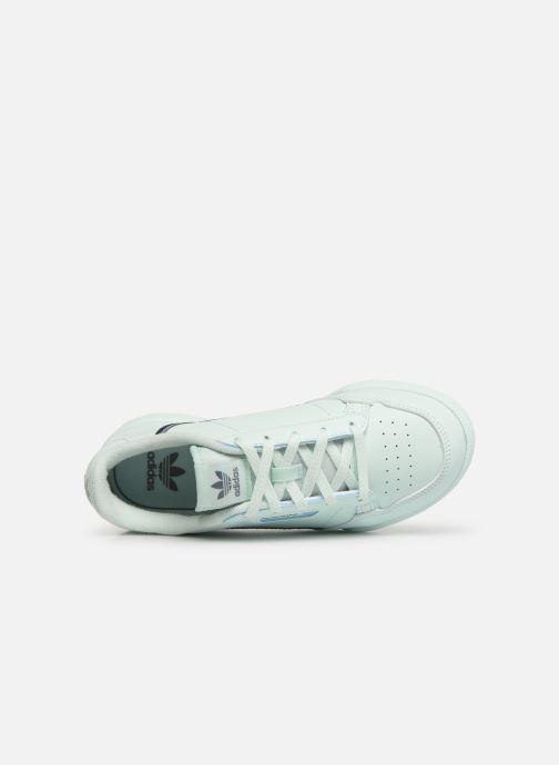 Baskets adidas originals Continental 80 C Bleu vue gauche