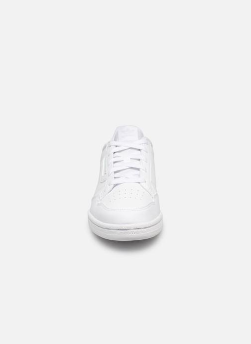 Deportivas adidas originals Continental 80 C Blanco vista del modelo