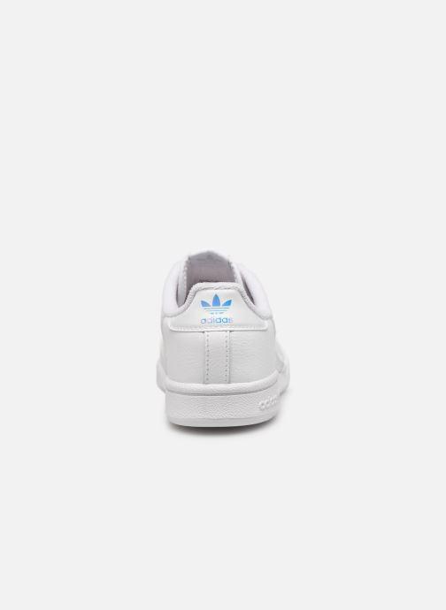 Sneakers adidas originals Continental 80 C Wit rechts