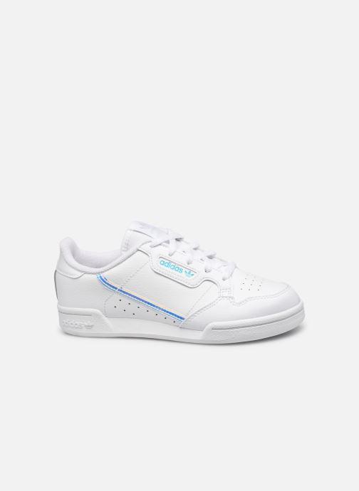 Baskets adidas originals Continental 80 C Blanc vue derrière